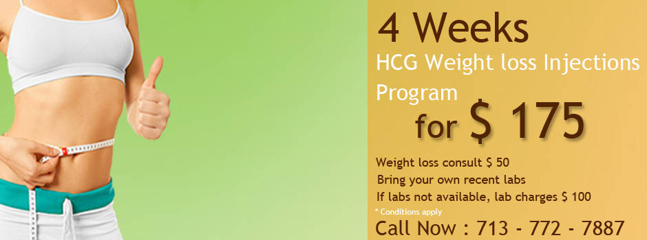 Pay $7/day for 50 days HCG Supply for Weight loss